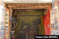 Штрек шахти в Кремінському краєзнавчому музеї