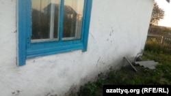 Дом Канатбека Ауельбекова, в который его заселили по программе переселения. Август 2016 года.