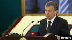The amnesty is the first clemency adopted since acting Uzbek President Shavkat Mirziyoyev took office.