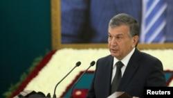 Өзбекстан президентинин милдетин аткаруучу Шавкат Мирзиёев.