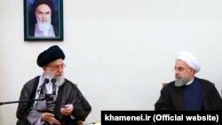 خامنهای در نامهای به حسن روحانی موافقت مشروط خود با اجرای توافق اتمی را اعلام کرد.