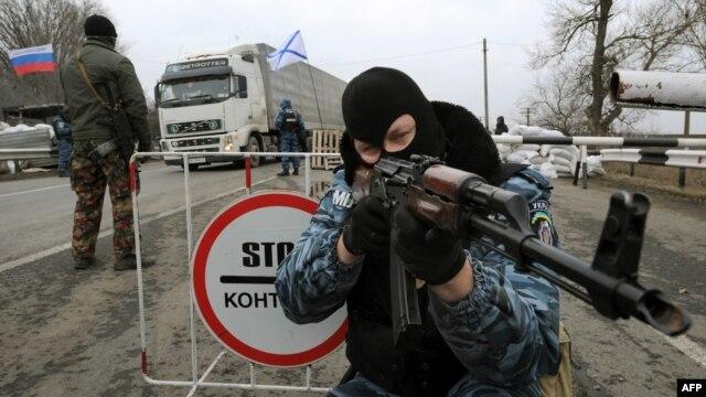 Российские войска уже в Крыму