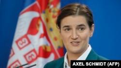 Архивска фотографија- српската премиерка Ана Брнабиќ