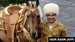 Turkmenistan's regime remained tight-lipped recently when President Gurbanguly Berdymukhammedov mysteriously disappeared from public view, prompting speculation that he may have died. (file photo)