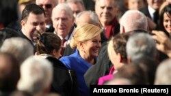 Kolinda Grabar Kitarović nakon inauguracije