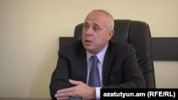Armenia -- The chief of the Ministry of Transport and Communications staff, Gagik Grigorian.