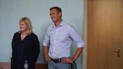Smiling Navalny Gets 10 Days Jail For 'Unauthorized Protest'