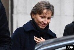 Вдова Александра Литвиненко Марина перед судебными слушаниями в Лондоне 3 февраля 2015 года