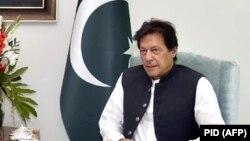 د پاکستان وزیر اعظم عمران خان.