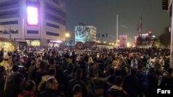 Тегерандағы наразылық.