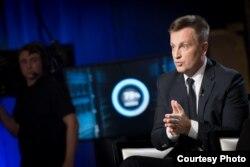 Валентин Наливайченко у ефірі одного з українських телеканалів