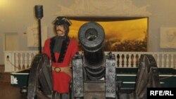 Одна з експозиція у музеї Полтавської битви