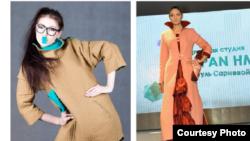"""Strasbourg Fashion журналы болсо кыргызстандык дизайнер Жумагүл Сариеванын """"Чапан"""" коллекциясын башкы бетине чыгарды."""