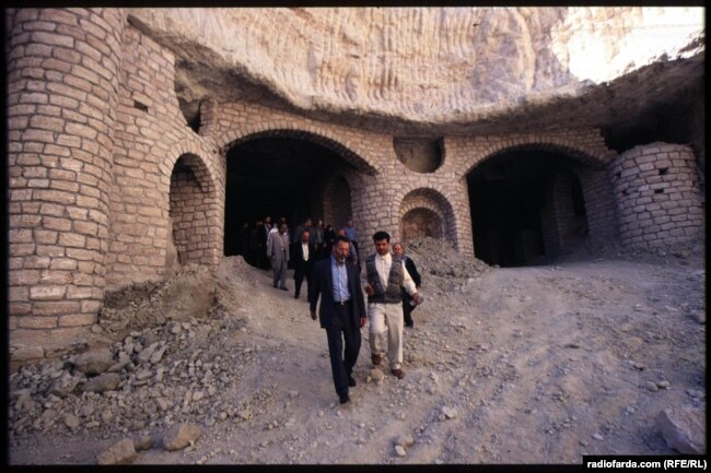 A tour of ancient ruins in Iran.
