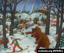 Ігар Рымашэўскі. «На раўбіцкай лыжні»