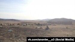Туши коров в Мухоршибирском районе Бурятии