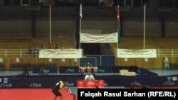 جانب من منافسات بطولة الأندية العربية لكرة الطاولة في الأردن