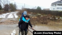 Вологодская область тонет из-за обильных осадков