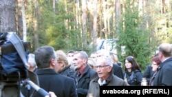 Родные и близкие погибших в авиакатастрофе под Смоленском