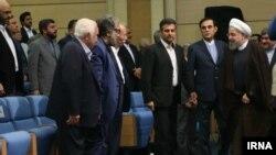 حضور هنرمندان ایرانی در مراسم افطاری سال ۹۶ حسن روحانی.
