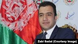 آرشیف، د افغانستان د انتخاباتو د کمېسیون مرستیال ذبیحالله سادات