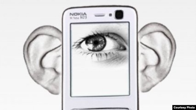 A Nokia protest graphic that was circulated in Iran last year.