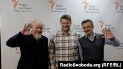 «Піккардійська терція». Зліва направо: Володимир Якимець, Андрій Капраль та Ярослав Нудик