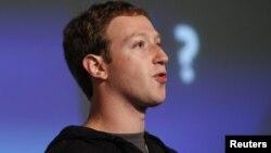 Керівник компанії Facebook Марк Цукерберг
