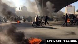 Ирандагы нааразылык. 16-ноябрь, 2019-жыл.