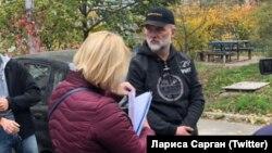 Задержание Валерия Чорнобука в Киеве