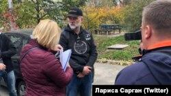 Задержание экс-председателя Апелляционного суда Автономной Республики Крым Валерия Чорнобука. Киев, 3 ноября 2018 года