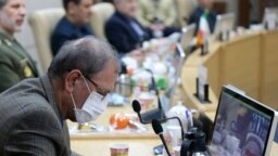 علی ربیعی، سخنگوی دولت در جلسه ستاد ملی مدیریت کرونا، روز جمعه