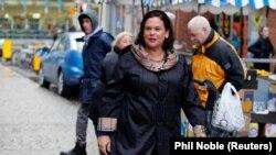 Mary Lou McDonald, președinta Sinn Fein