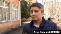 Сәрсенбек Қызайбекұлының адвокаты Бауыржан Айдарбеков.