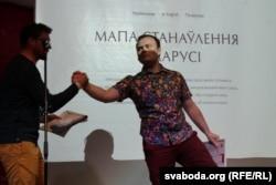 Аляксей Чаранкевіч, адзінса стваральнікаў «Мапы станаўленьня Беларусі»