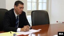 Израелскиот амбасадор Дан Ориан.