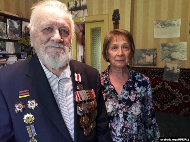 Фелікс Шкірманкоў з дачкой Ірынай