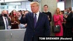 Presidenti amerikan, Donald Trump.