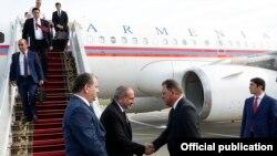 Прибытие премьер-министра Армении Никола Пашиняна в Беларусь, 16 июля 2020 г.