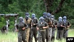 ترکيه در ماه های اخير فعاليت های خود را برای سرکوب شبه نظاميان پ کا کا در ترکيه و شمال عراق را به شدت افزايش داده است. (عکس:AFP)