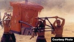 """Кадр из фильма """"Красный гаолян"""""""
