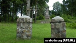 Уваход на могілкі ў Полтараўшчыне