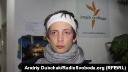 Польський журналіст Павел Пєньонжек, побитий беркутівцями 1 грудня 2013 року