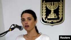 آیلت شاکد، وزیر دادگستری اسرائیل