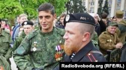 Гиви и Моторола, 9 мая 2015 года, Донецк