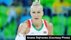 Баскетбалістка Алена Леўчанка