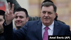 Milorad Dodik, president of Republika Srpska