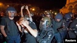 Proteste la Sofia în 2013 împotriva guvernului și a corupției