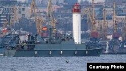 Іспанський тральщик «Duero». Фото прес-центру Командування ВМС ЗС України