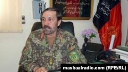د ۲۰۵م قول اردو کمندان جنرال عبدالحمید د هوايي ځواکونو د عملیاتو په اړه څرګندونې کوي.